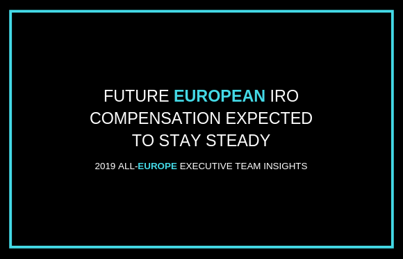 Future European IRO Compensation Expected To Stay Steady