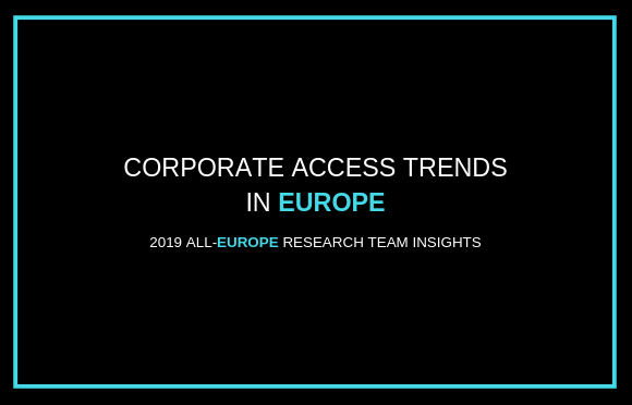 Corporate Access Trends in Europe
