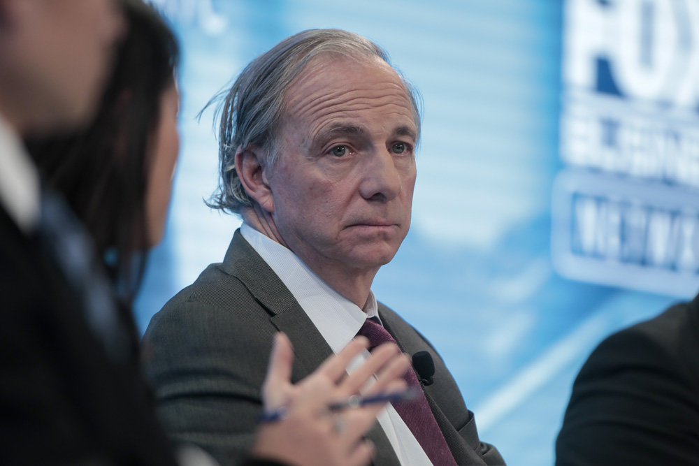 Ray Dalio (Jason Alden/Bloomberg)