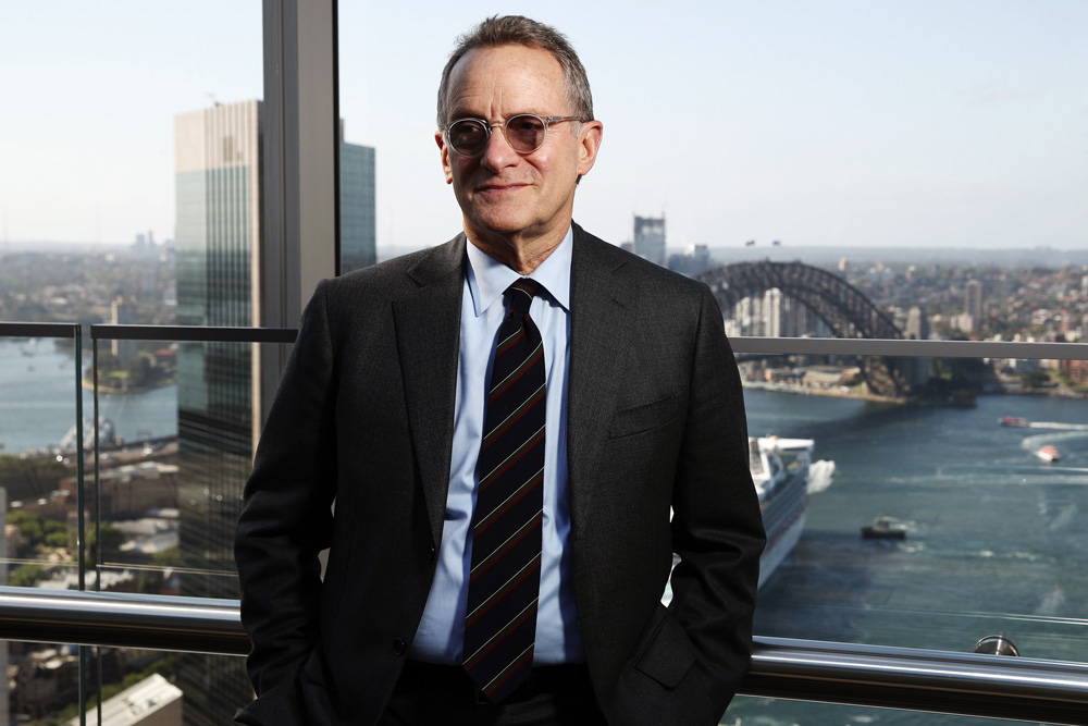 Howard Marks, chairman and co-founder of Oaktree Capital Group (Brendon Thorne/Bloomberg)