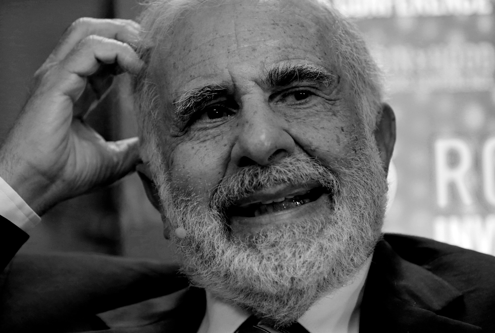 Carl Icahn (Peter Foley/Bloomberg)