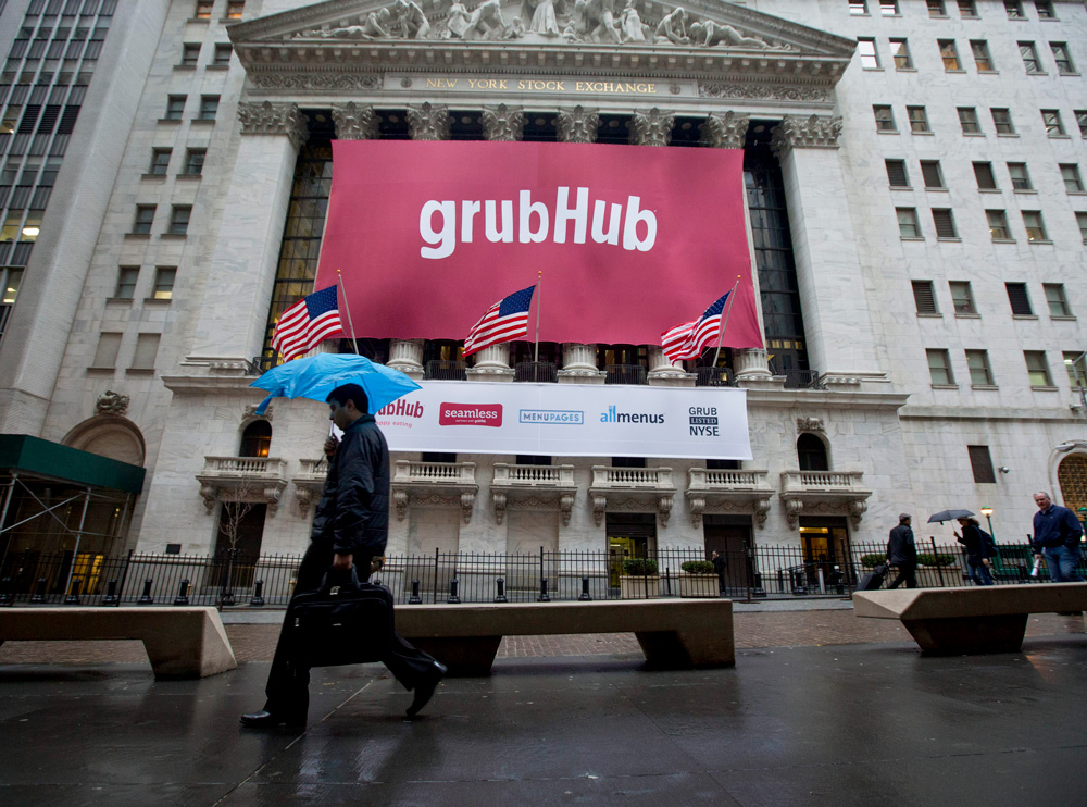GrubHub Under Assault from Short-Sellers, Sell-Side Analysts