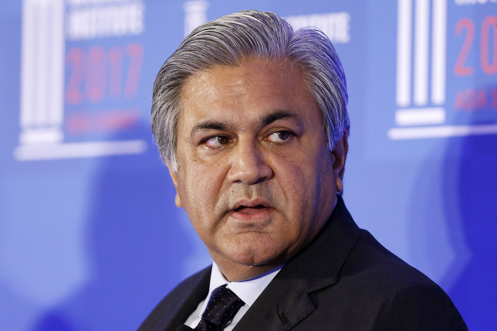 Arif Naqvi, former chief executive officer of Abraaj Capital (Vivek Prakash/Bloomberg)