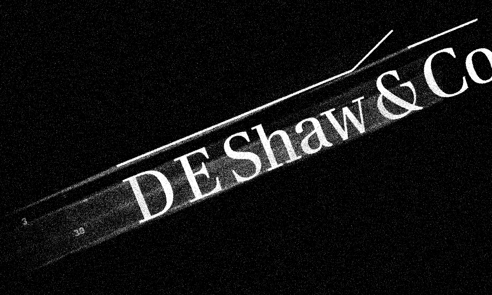 3-and-30 Is Back for D.E. Shaw