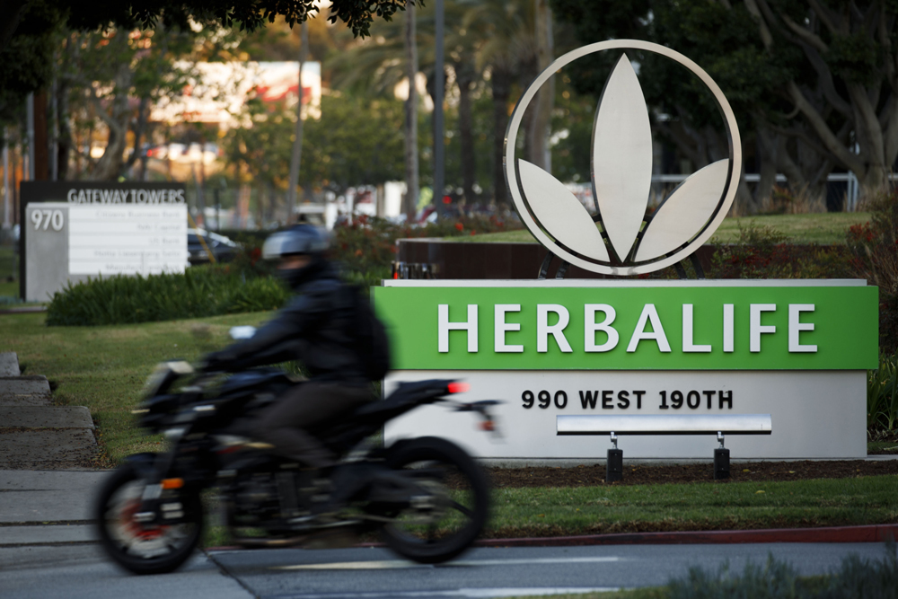 Despite Strong Earnings, Herbalife Shares Sink