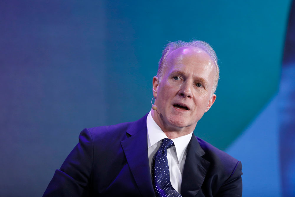 Mark Machin, president and chief executive officer of the Canada Pension Plan Investment Board. (Justin Chin/Bloomberg)