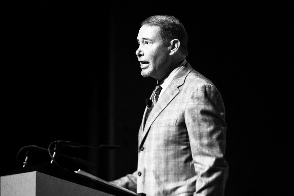 Jeffrey Gundlach, co-founder and chief executive officer of DoubleLine Capital (Alex Flynn/Bloomberg)