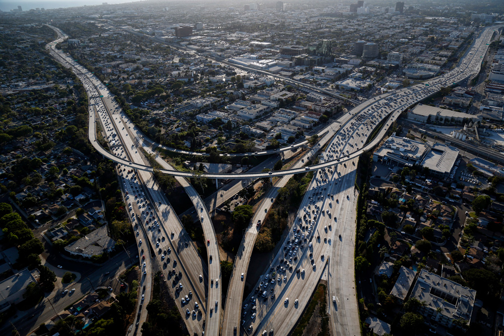 Los Angeles (Patrick T. Fallon/Bloomberg)