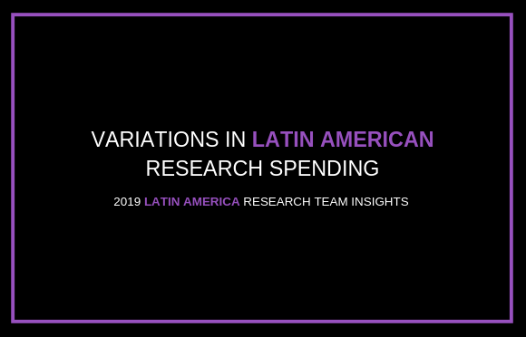 Variations in Latin American Research Spending
