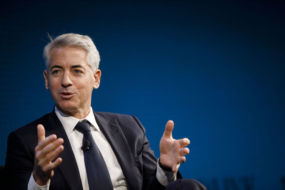 Bill Ackman's Funds Post Record Gains