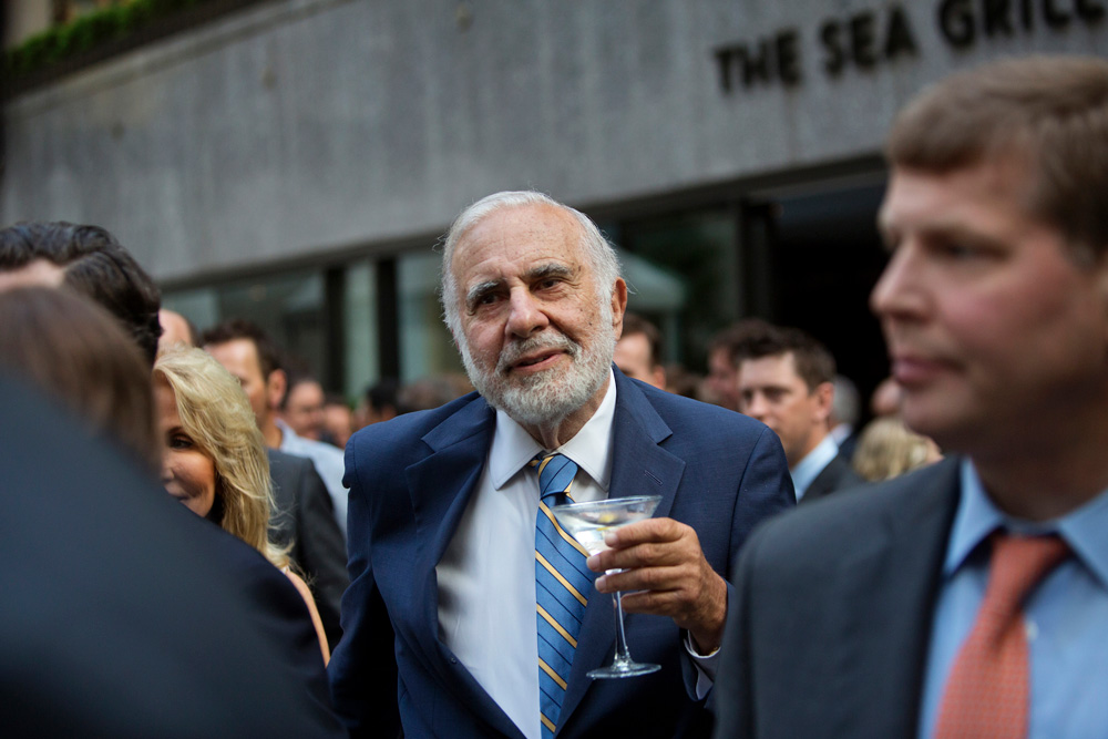 Carl Icahn is This Year's Top Activist