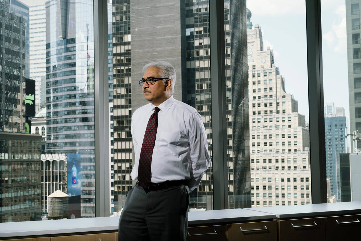 Ken Miranda, Cornell University's Chief Investment Officer. (Photographs by Jonno Rattman)