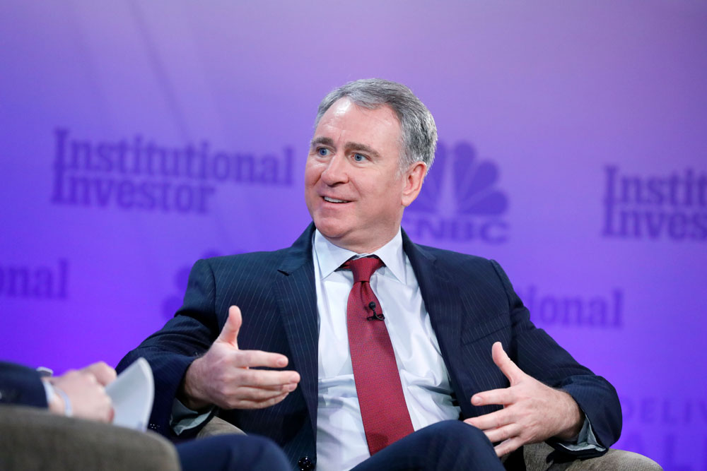 Ken Griffin at the Delivering Alpha conference. (Heidi Gutman/CNBC)