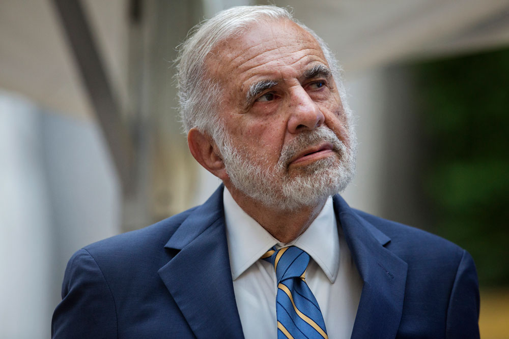 Carl Icahn Posts More Losses