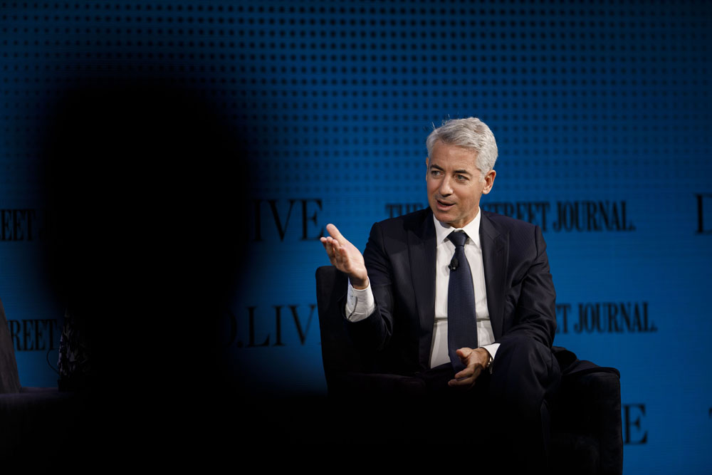 Bill Ackman's Publicly Traded Hedge Fund Hits Its High-Water Mark