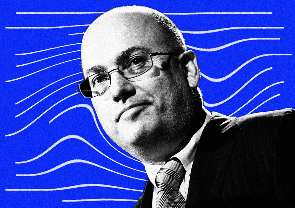 Steve Cohen (II Illustration; Scott Eells/Bloomberg)