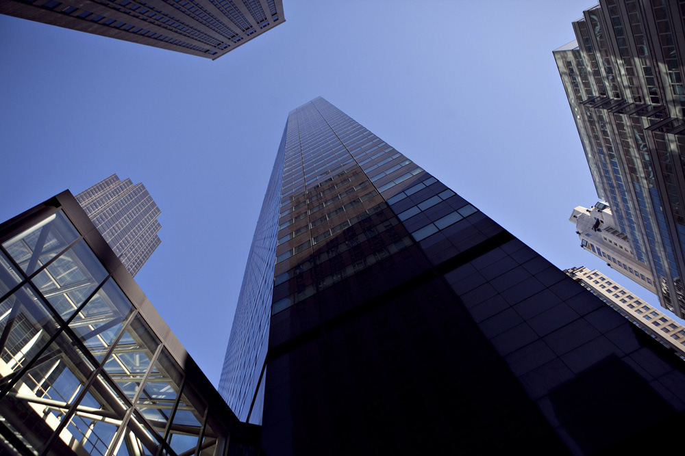 P2 is headquartered at 590 Madison Avenue. (Daniel Acker/Bloomberg)