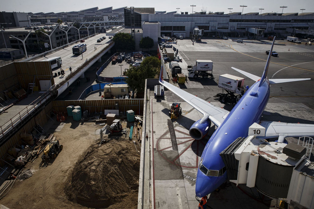 Los Angeles International airport. (Patrick T. Fallon/Bloomberg)