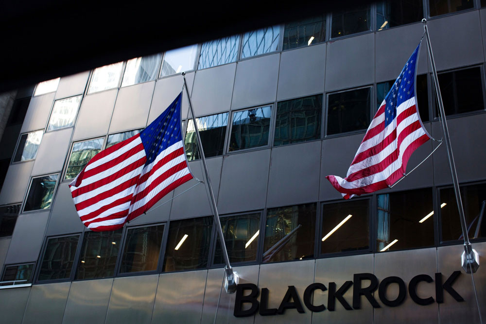 Blackrock headquarters. (Gabriella Angotti-Jones/Bloomberg)