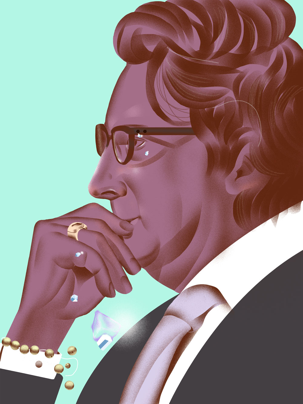 Phil Falcone (Illustration by Richard A. Chance)
